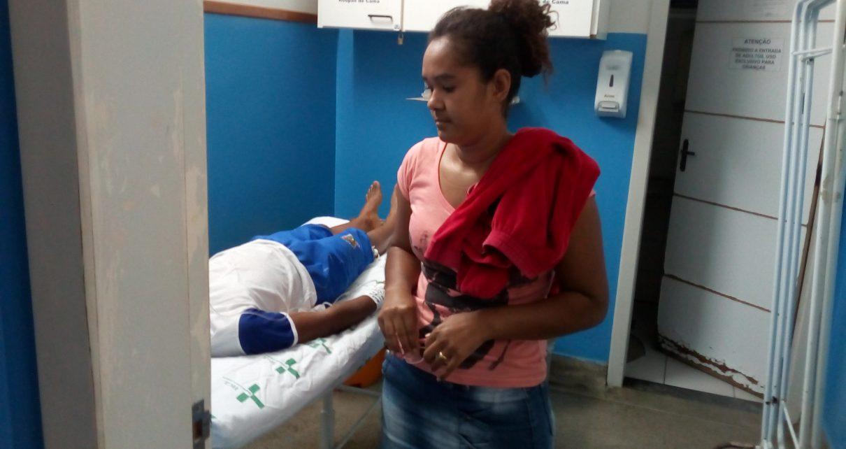 Criança que caiu quando ia beber água em Linhares radar geral linhares