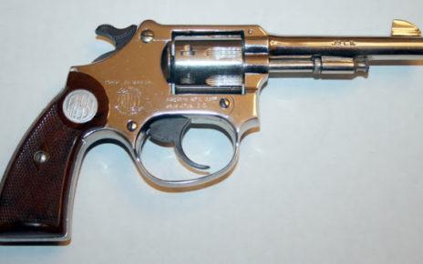Revolver calibre 22