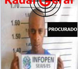 Procurado pela justiça de Linhares, no Norte do Espírito Santo, Adeilson do Nascimento site de noticias em linhares es