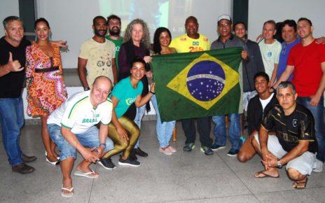 Carlos Dias junto a participantes radar geral linhares