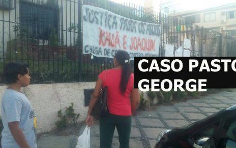 Casa da tragédia em Linhares - as vítimas em destaque