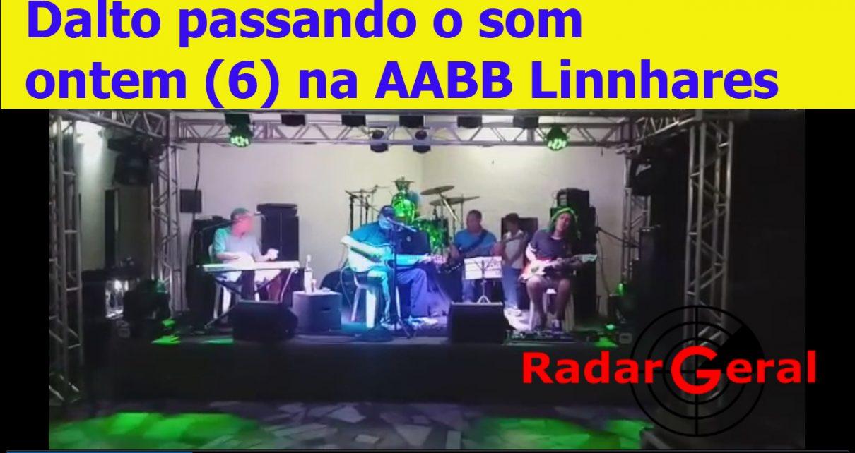 Dalto e Cirinho Rio Doce na AABB Linhares (ES) radargeral.com site noticias em Linhares es