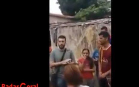 brasileiro ensinando venezuelamno a invadir casas em roraima radargeral.com