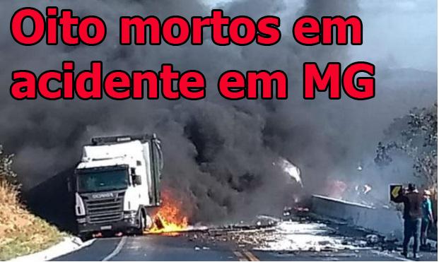 acidente oito mortos em minas site radargeral.com site noticias de linhares es