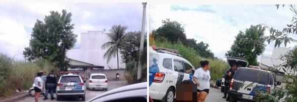 Rua Carlos Gomes, onde o Corsa foi abandonado radar geral site de noticias de linhares
