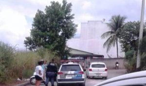 Rua Carlos Gomes, onde o veículo foi encontrado radar geral