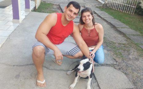Lucas seibert e Gabrieela Belei Zieba raul seixas cachorro