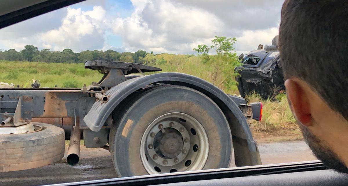 carreta tomba estrada do pkntal água 9 de agosto radargeral.com linhares es