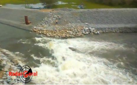 abertura canal rio pequeno lagoa juparanã em linhares es
