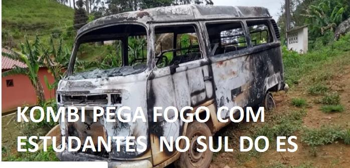 KOMBI PEGA FOGO ESTUTANTES MUNIZ FREIRE ES