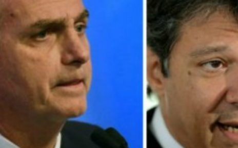 bolsonaro e haddad eleições 2018 radargeral