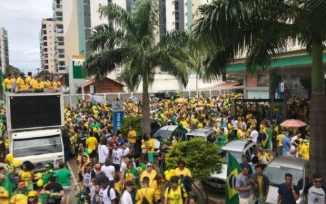 maniofestação pro bolsonaro vitória es foto a tribuna