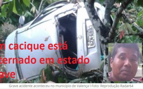 acidente mata pataxó em valença bahia radargeral.com foto radar 64