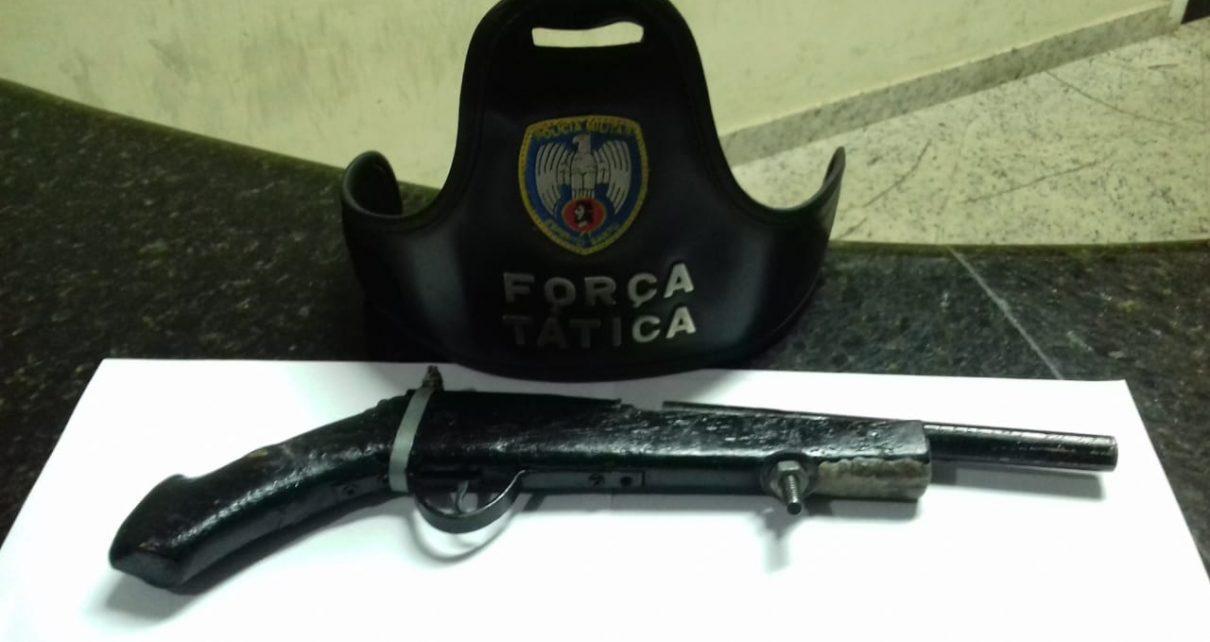 PORTE ARMA DE FOFO APREENDIDO LINHARES ES RADARGERAL.COM