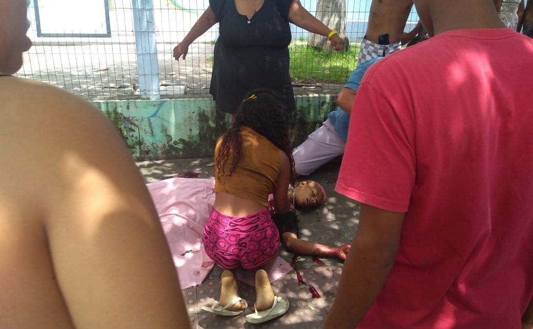 Wenderson da Silva Sant'anna e Silva, 14 anos, na Rua D. Pedro II, no B. Interlagos enfrente ao CEIM Adagmar Pinto dos Santos, em Linhares,