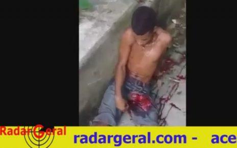 bandido leva tiro no saco radargeral