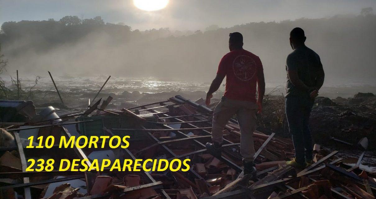 brumadinho1 FOTO RAQUEL FREITAS G1 110 MORTOS