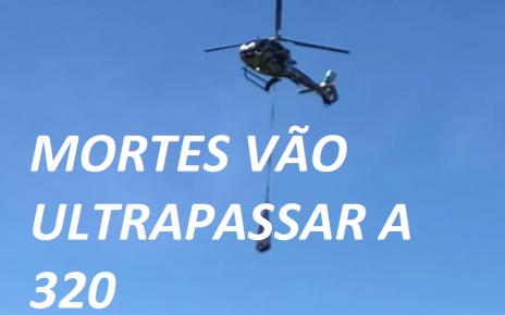 134 MORTES CONFIRMADAS EM BRUMADINHO RADARGERAL