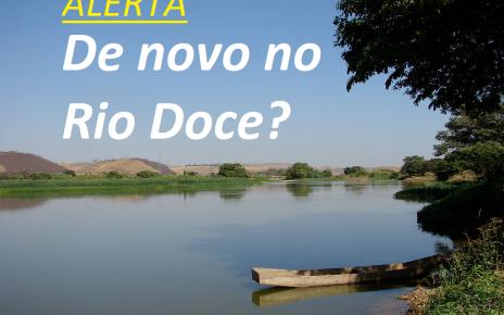 RIO DOCE BAR]AO DE COCAS BARRAGEM PERIGO RADARGERAL.COM