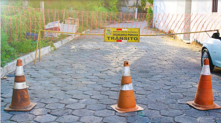 avenida beira rio interditada na tarde de hoje (19)