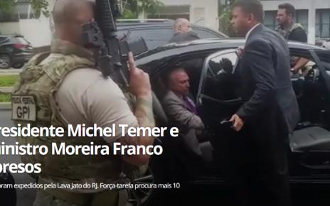 ex-presidente temer é preso pela lava jato