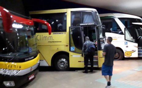 passageiros de dois onibus da itapemirim são assaltados na bahia